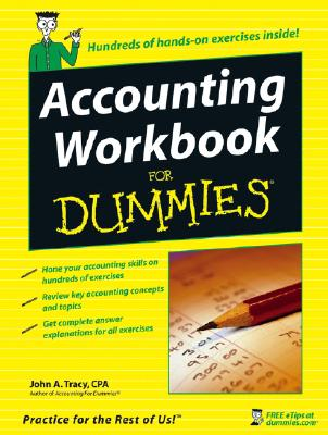 Accounting Workbook for Dummies By Tracy, John A.