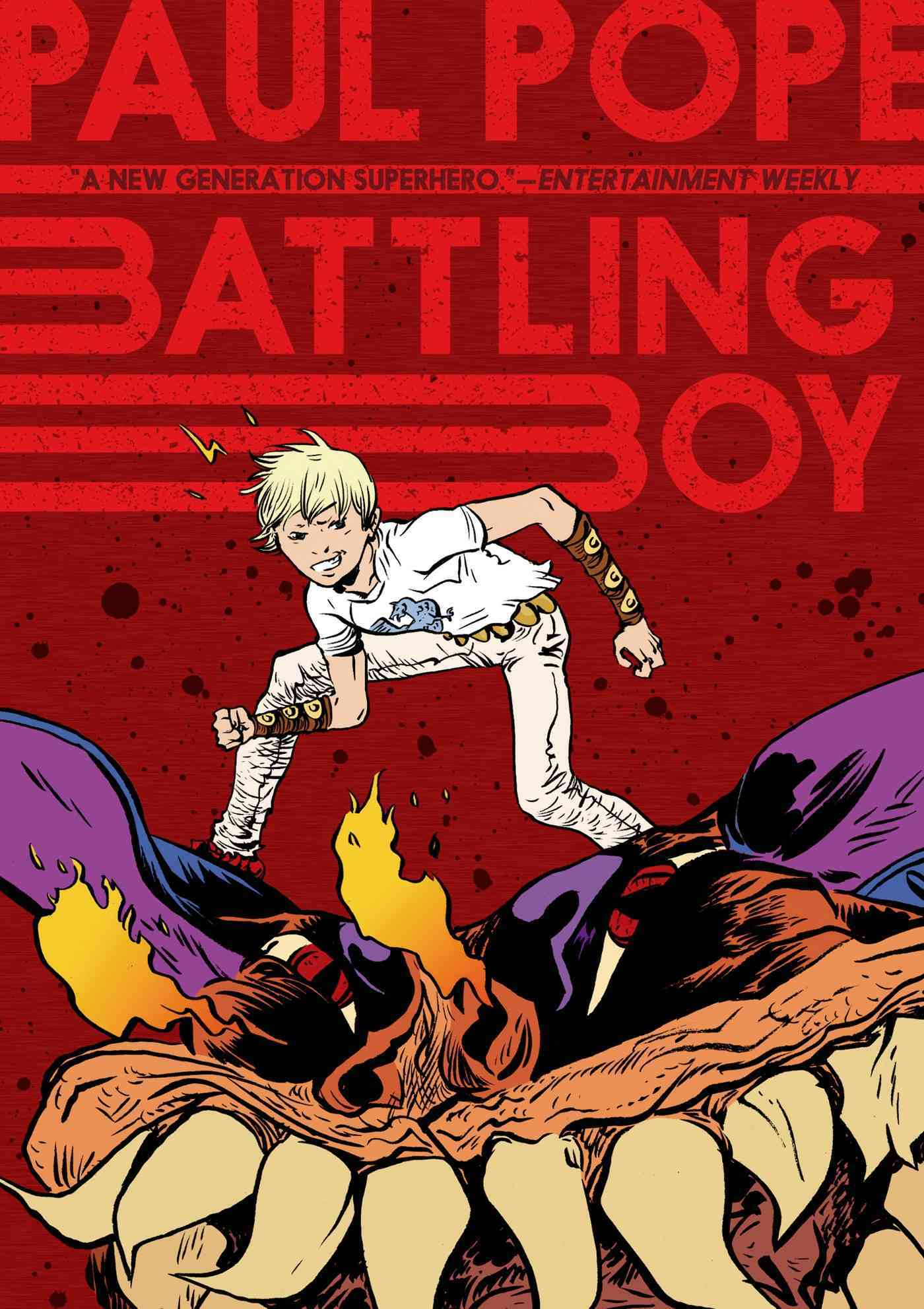 Battling Boy By Pope, Paul